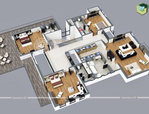 7 Best Ways 3D Floorplan Designs Can Get You Potential Rental Leads